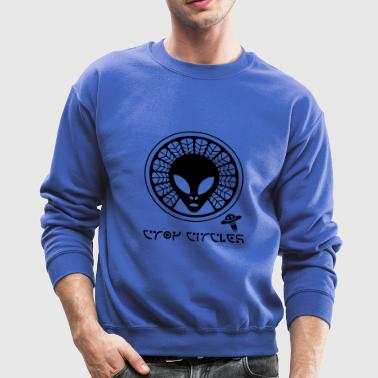 crop circles - Crewneck Sweatshirt