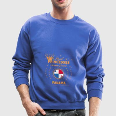 love princesses come from PANAMA - Crewneck Sweatshirt