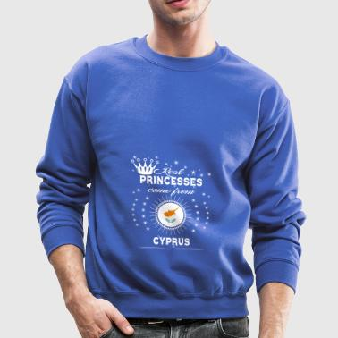queen love princesses CYPRUS - Crewneck Sweatshirt