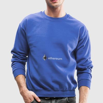 ethereum original sign blockchain trader bitcoin - Crewneck Sweatshirt