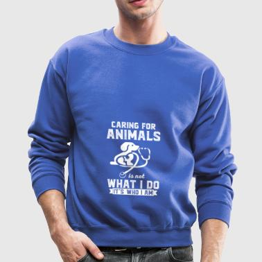 Love of animals - veterinarian - stockman - Gift - Crewneck Sweatshirt
