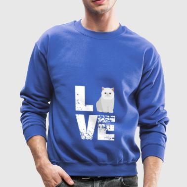 Love Exotic shirt - Funny Cat gifts - Crewneck Sweatshirt