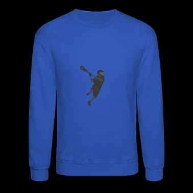 Lacrosse Player - Crewneck Sweatshirt