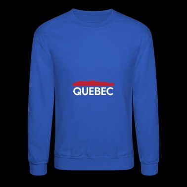 Quebec Skyline French Speaking Province Canada - Crewneck Sweatshirt