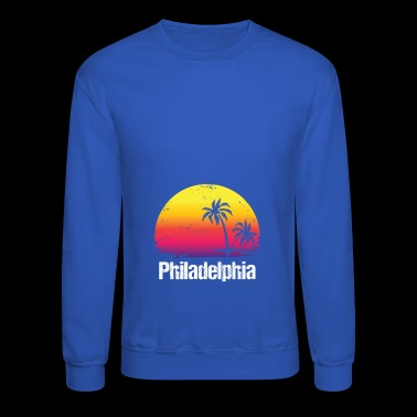 Summer Vacation Philadelphia Shirts - Crewneck Sweatshirt