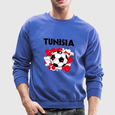 Tunisia Soccer Shirt Fan Football Gift Funny Cool - Crewneck Sweatshirt