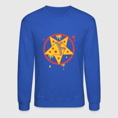 Occult Pentagram Pizza - Crewneck Sweatshirt