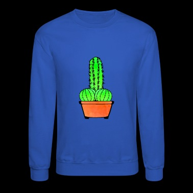 Provocative Cactus and Aloe - Crewneck Sweatshirt