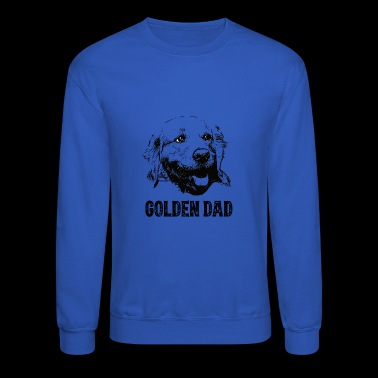 Golden Dad Golden Retriever - Crewneck Sweatshirt