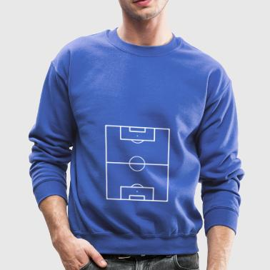 Football Field Soccer Pitch Playing Field Ground - Crewneck Sweatshirt