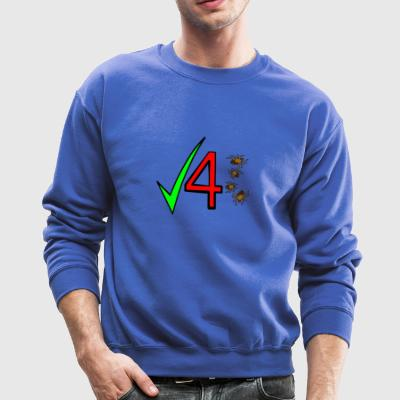 Check 4 Ticks - Crewneck Sweatshirt