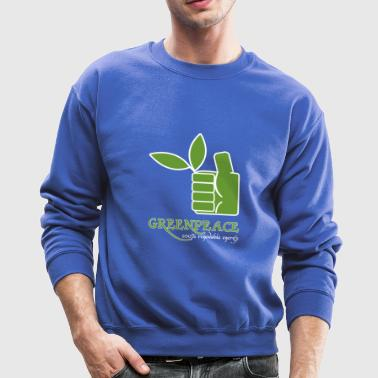 Greenpeace 100 renewable energy - Crewneck Sweatshirt