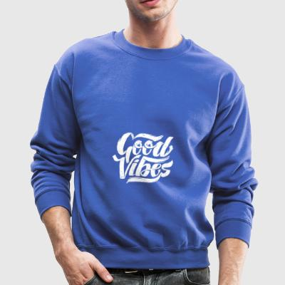 Good Vibes - Feel Good T-Shirt Design - Crewneck Sweatshirt