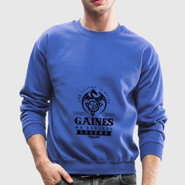 GAINES - Crewneck Sweatshirt