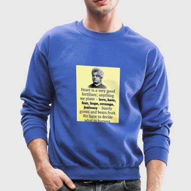 Heart of the Matter Heart of the Matter, Vivekanan - Crewneck Sweatshirt