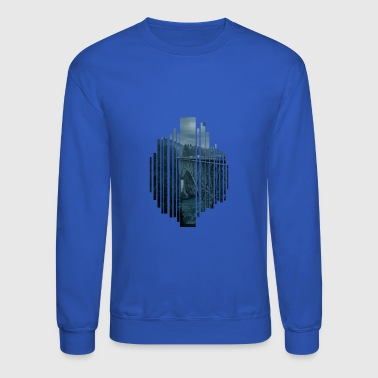 Bridge in the evening - Crewneck Sweatshirt