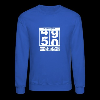 New Design 50th Birthday Oldometer Best Seller - Crewneck Sweatshirt