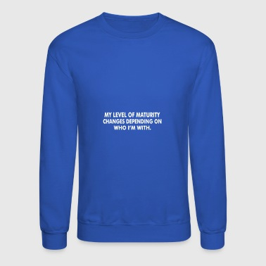 Level Maturity - Crewneck Sweatshirt
