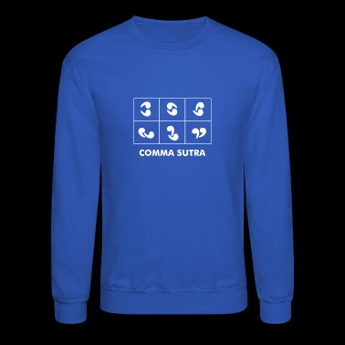Comma Sutra - Crewneck Sweatshirt
