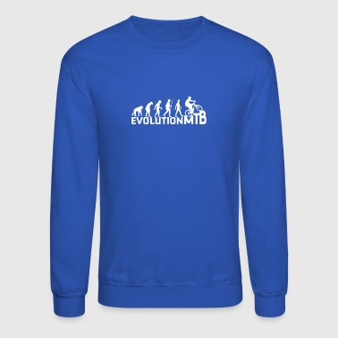 Evolution Of A Mountain Biker - Crewneck Sweatshirt