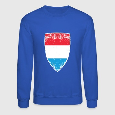 Flag of Luxembourg - Crewneck Sweatshirt