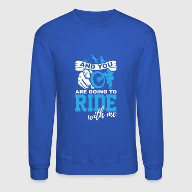 Mountain biker - Crewneck Sweatshirt