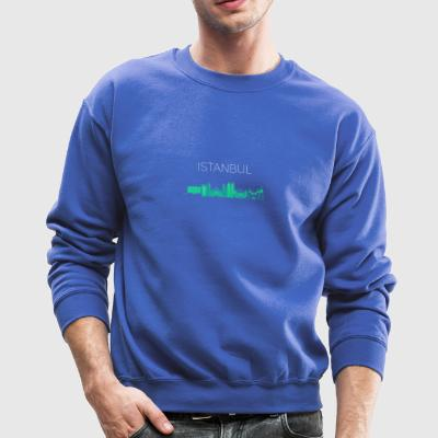 istanbul skyline turkey city Europe Moschee turk - Crewneck Sweatshirt