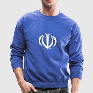 National Coat Of Arms Of Iran - Crewneck Sweatshirt