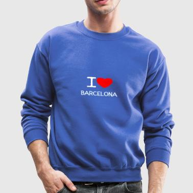 I LOVE BARCELONA - Crewneck Sweatshirt