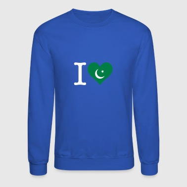 I Love Pakistan - Crewneck Sweatshirt