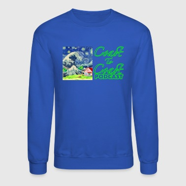Coast to Coast Podcast Merch - Crewneck Sweatshirt