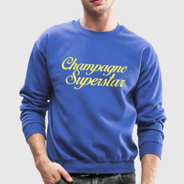 Champagne Superstar - Crewneck Sweatshirt