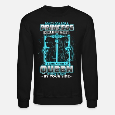 Online sword art online kirito and asuna t shirt - Unisex Crewneck Sweatshirt