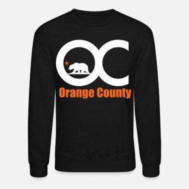 Orange orange_county - Unisex Crewneck Sweatshirt