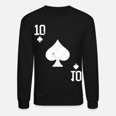 Pik Poker 10 Card Game Pik Vintage - Unisex Crewneck Sweatshirt