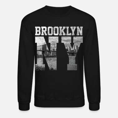 Ny Brooklyn New York - Unisex Crewneck Sweatshirt