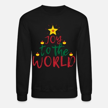 Joy Joy to the World - Unisex Crewneck Sweatshirt