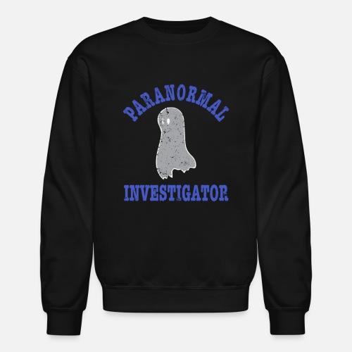 5579c8fc Unisex Crewneck SweatshirtParanormal Investigator Ghost Hunting Gear Tshirt