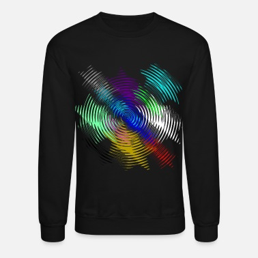 Colorcontest Multicolor rotation invert - Unisex Crewneck Sweatshirt
