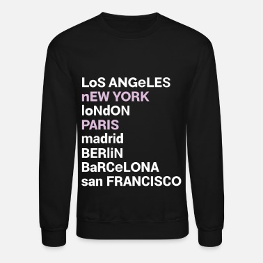 Love City Love Sweatshirt | Los Angeles New York London - Unisex Crewneck Sweatshirt