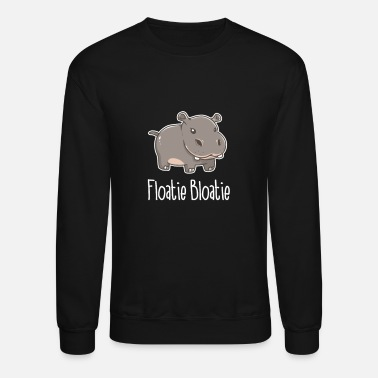 Animal Welfare Floatie Boatie Baby Hippo Animal Kids - Unisex Crewneck Sweatshirt