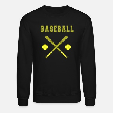 Baseball Bat Baseball bat with balls Bat - Crewneck Sweatshirt