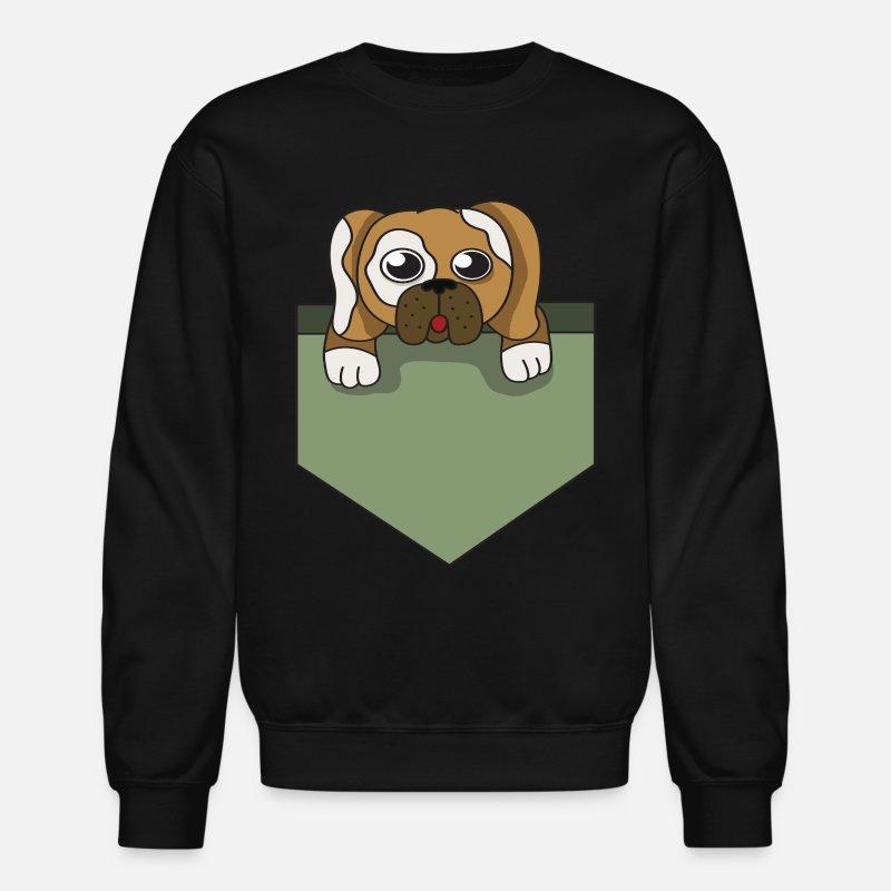 cb96ed79c808 Pug Hoodies   Sweatshirts - Dog lover pocket animal