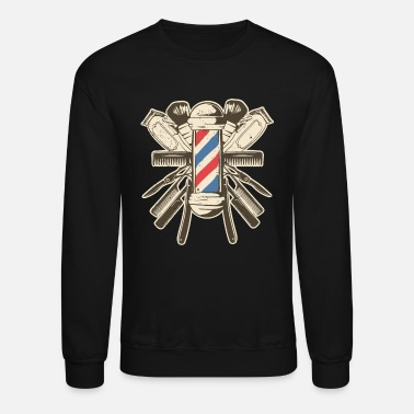 Barber Accessories - Hairdresser Beard Hairstyle - Unisex Crewneck Sweatshirt
