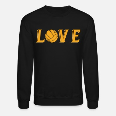 Volleyball T-Shirts - Unisex Crewneck Sweatshirt