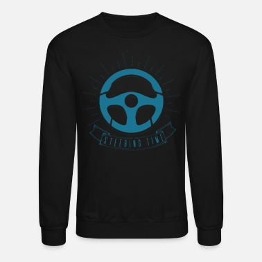 Steer Steering Wheel - Crewneck Sweatshirt