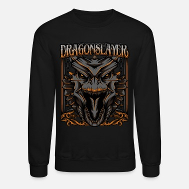 Mythical Beast Dragonslayer Cool Dragon Head Mythical Beast Gift - Unisex Crewneck Sweatshirt