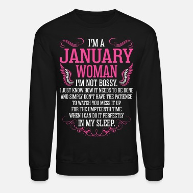 45420a7b Im A January Woman Tshirt Unisex Baseball T-Shirt | Spreadshirt