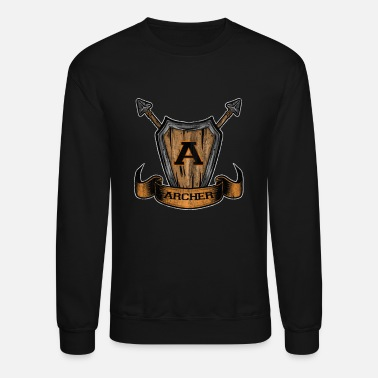 Archery Sport Bow Arrow - Unisex Crewneck Sweatshirt