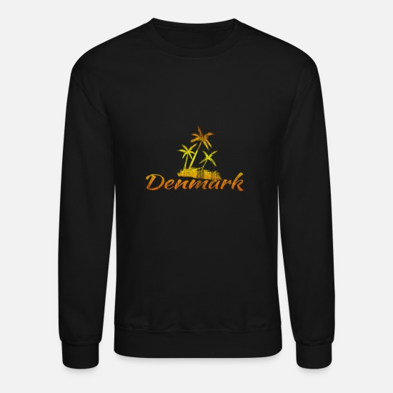 Country Hoodies & Sweatshirts - Denmark Europe EU Euro Country - Unisex Crewneck Sweatshirt black